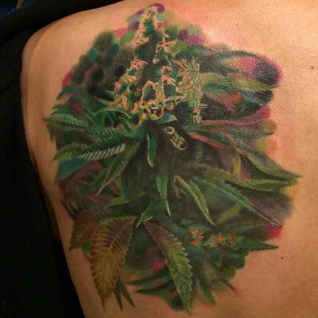 19 best tattoo smoke weed in chinese images on pinterest for Weed tattoo images