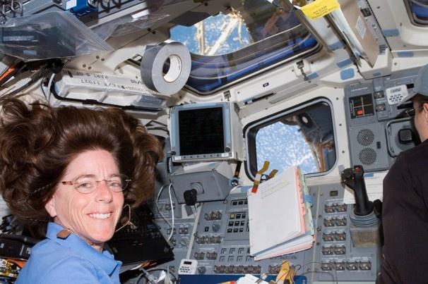 NASA astronaut, Barbara R. Morgan