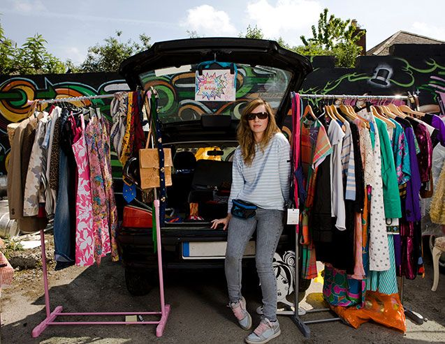 You can turn those rags to riches by heading to your local car boot.