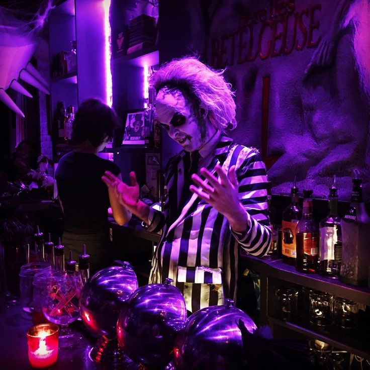 An Inside Look at NYC's Tim Burton-Themed Bar, Beetle House | spoiled NYC
