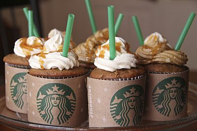 Frappacino Cupcakes..ooo
