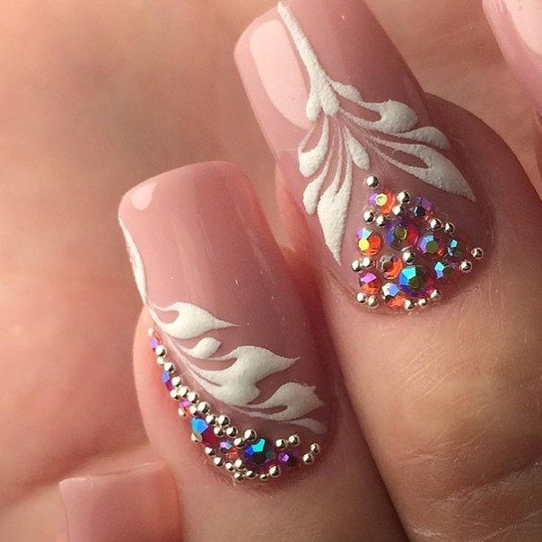 8029 best beauty nails images on pinterest nail designs floral rhinestones pandora jewelrybeautiful nail artfinger prinsesfo Gallery