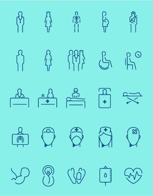 hospital icons