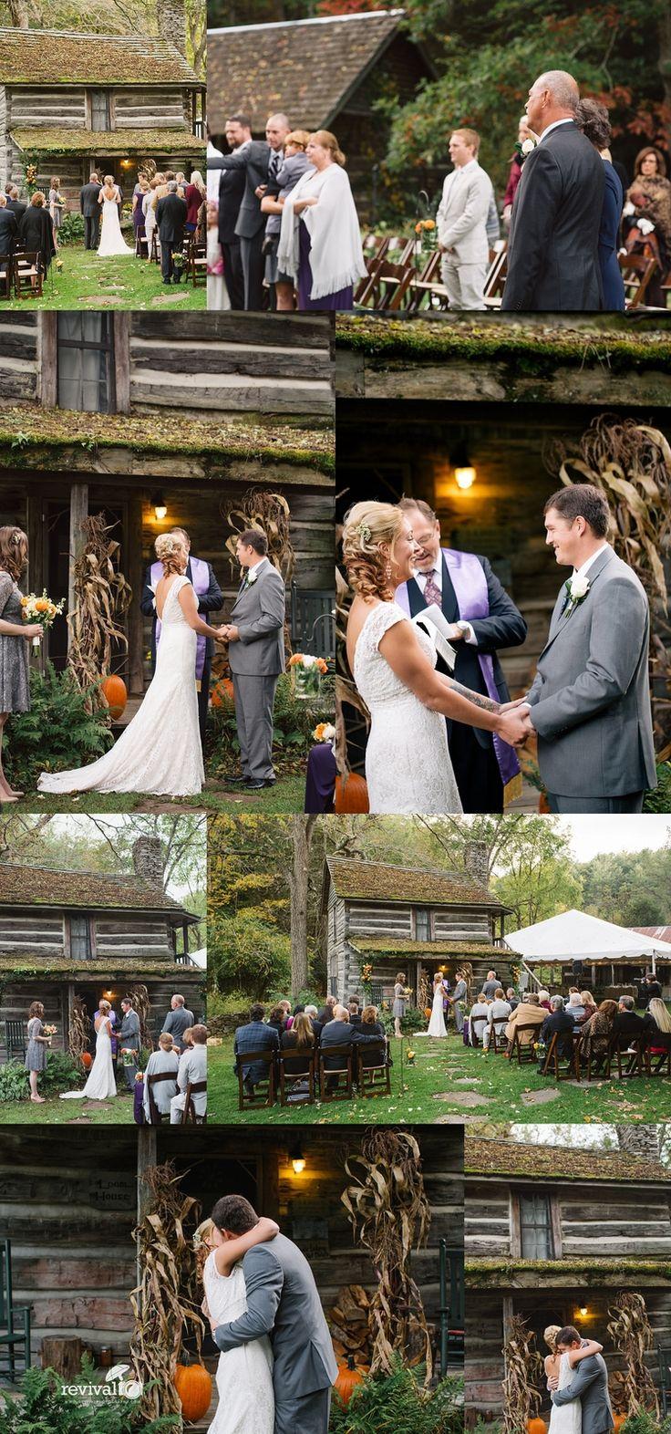 Jess + Alex An Intimate B & B Wedding at The Mast Farm