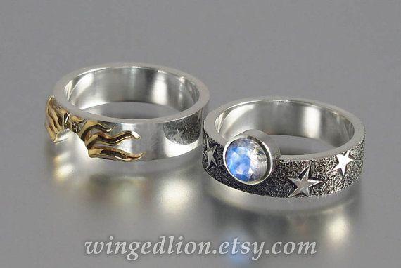 SOLAR ECLIPSE el sol y Luna compromiso conjunto con por WingedLion
