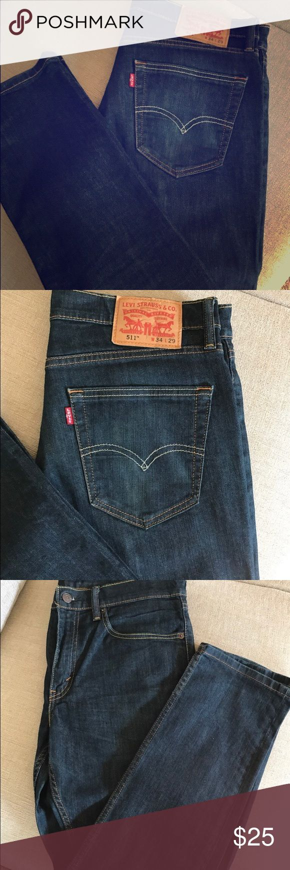 Levi Strauss jeans 511 Levi jeans 511 ~~ W34 L29 ~~ very well taken care of Levi's Jeans Slim Straight