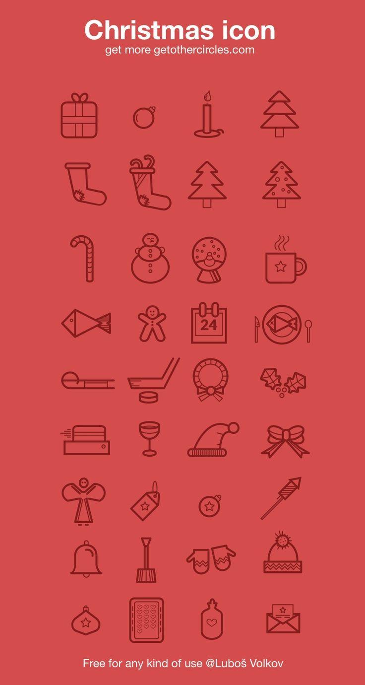 36 Free Christmas Icons