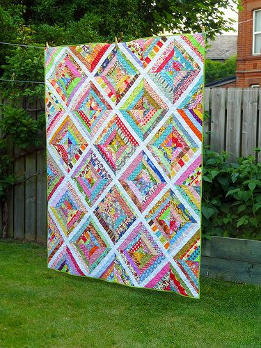 Scrappy Strips Quilt (British Patchwork & Quilting Sept16) | by Just Jude…