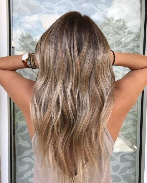 35 Balayage Haarfarbe Ideen für Brünette im Jahr 2019, Die französische Ha