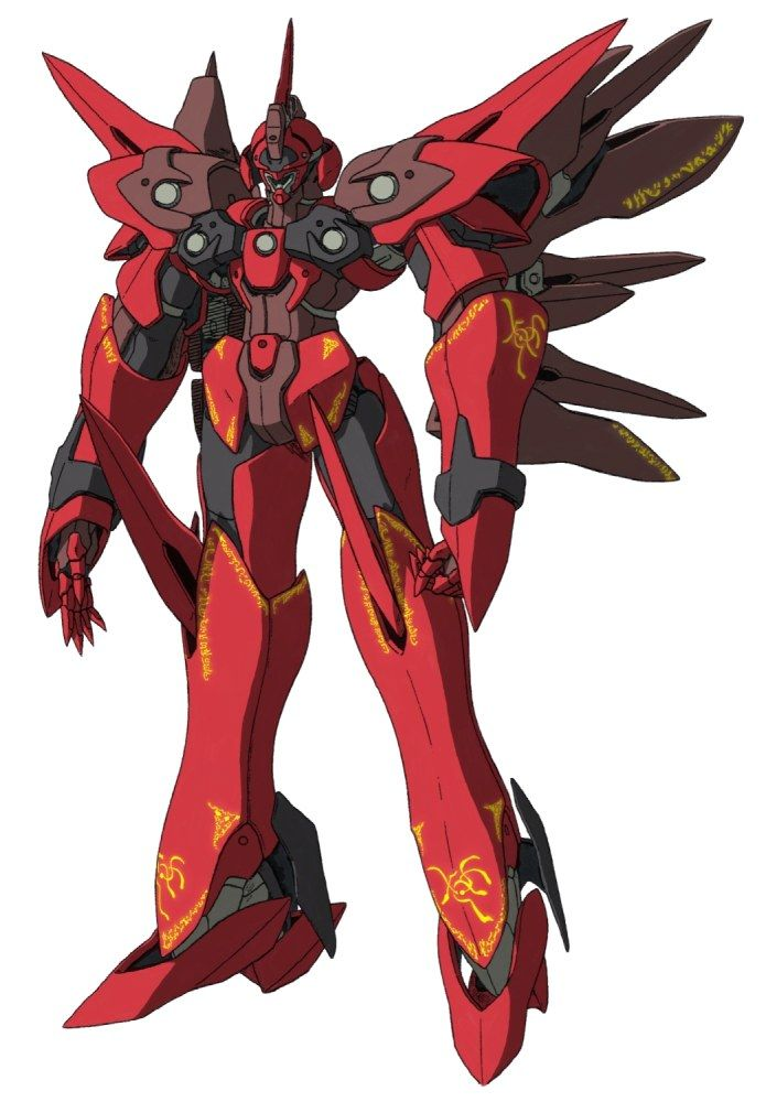 Xenogears Character Design : Weltall id s gear from xenogears mecha ornate