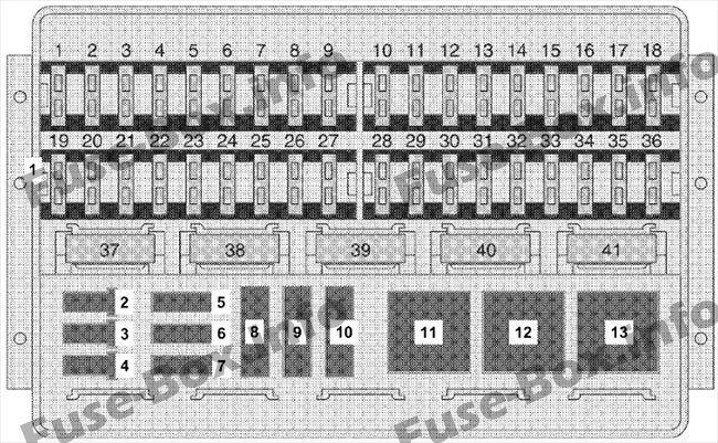 Fuse Box Under Driver S Seat Diagram Dodge Sprinter 2002 2003 2004 2005 2006 Fuse Box Sprinter Engine Control Unit