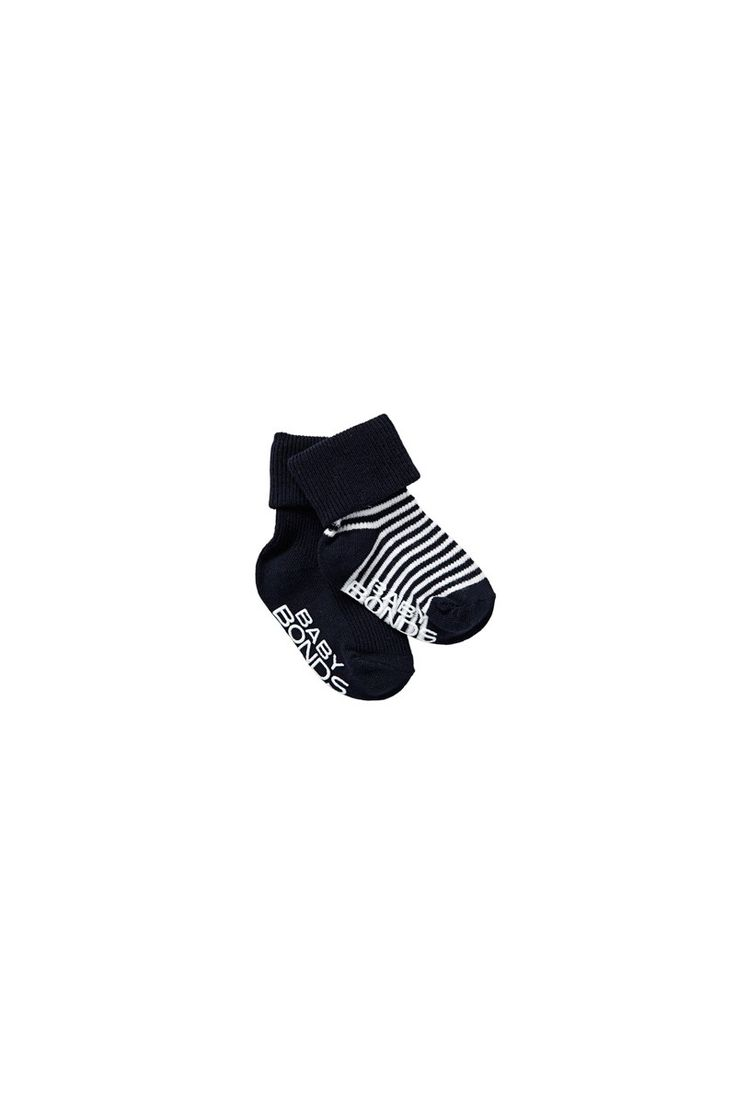 BONDS Classic Cuff 2pk | Baby Socks | RYY82N