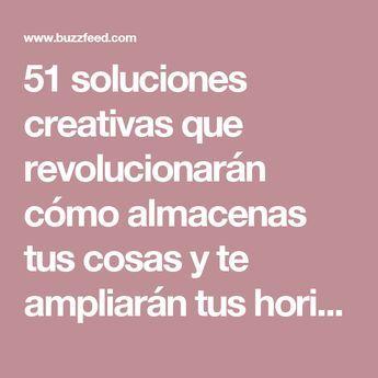 51 soluciones creativas que revolucionarán cómo almacenas tus cosas y te ampliarán tus horizontes