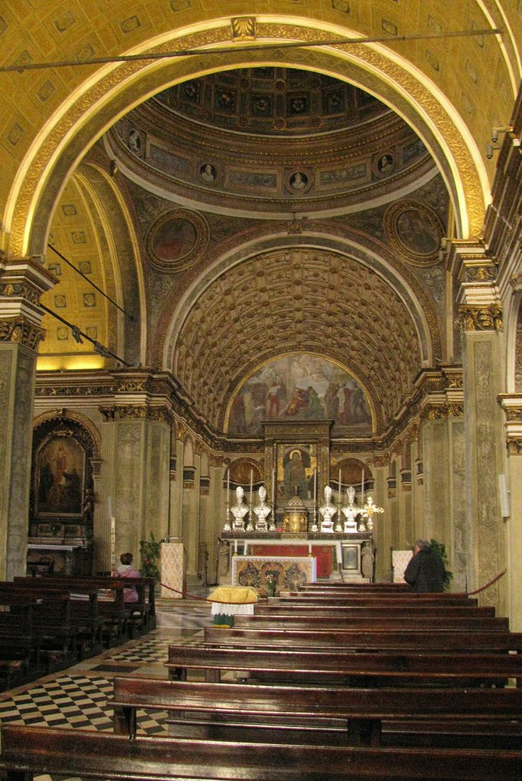 Bramante, Santa Maria presso San Satiro. Milano