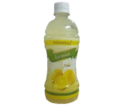#A Patanjali Ayurved Product , a drink made by lemon . Lemon is a very good source of Vitamin C. Vitamin C is a very good for skin. Starting your day with Lemon juice or Lemon water actually give you blemish free clear glowing skin. Ready-To-Serve Fruit Drink Contains Fruit juice.Taste best when served chilled. 500ml price Rs.30