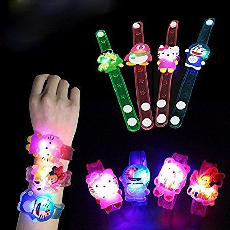 RIANZ All New Birthday Return Gifts For Kids Assorted Cartoon Characters Led Light Bracelets - Friendship bands | Kids' Clothes, Baby Clothes, Accessories & Gifts