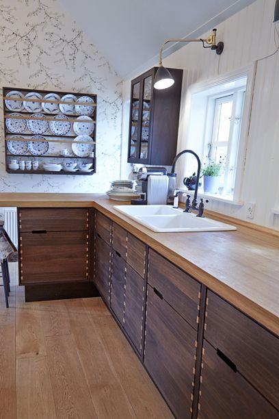 10 rustikke køkkener -