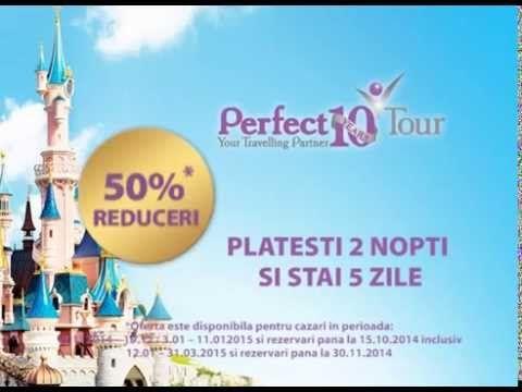 Oferta Disneyland Paris 50% Reducere
