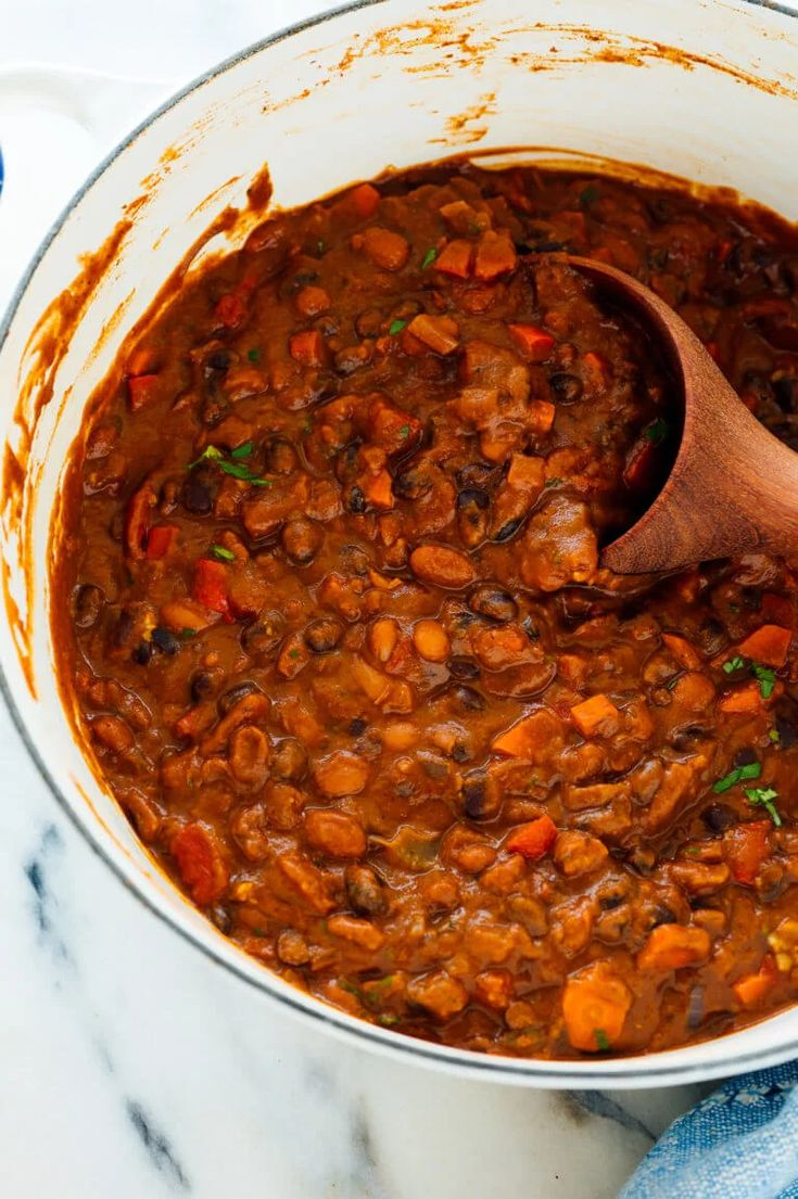 Homemade Vegetarian Chili Recipe Vegetarian chili
