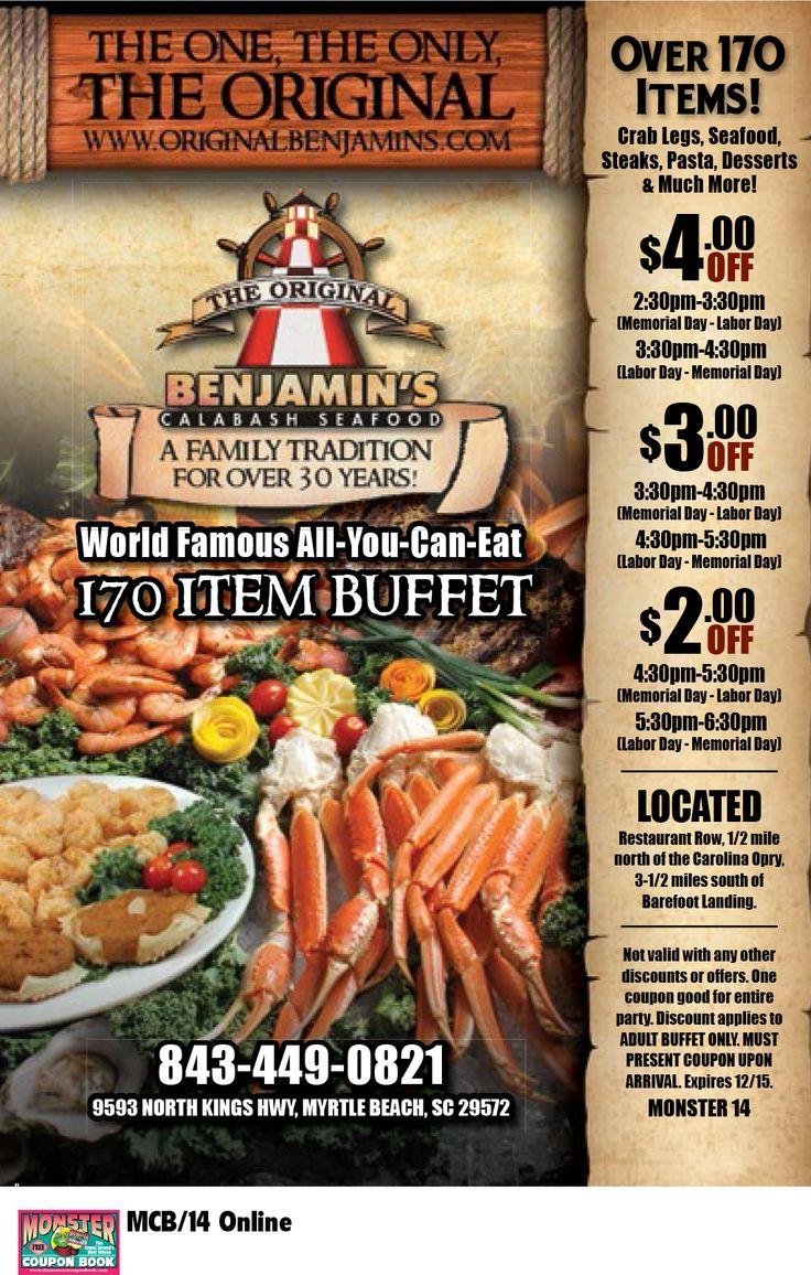 Seafood Buffet Restaurants In Calabash Nc