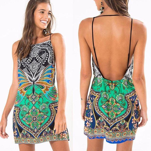 """WEBSTA @ dicasdacarol_ - Lançamento Sarongue! >> vestido borboletário pretoDe R$219 por R$197,10   frete grátis usando o código A798 no campo """"código de vendedor"""" ao finalizar suas compras!www.farmrio.com.br"""