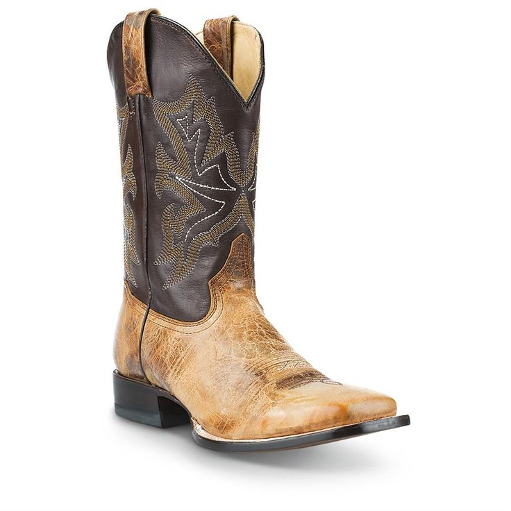 Mens Cowboy Boot House Shoes