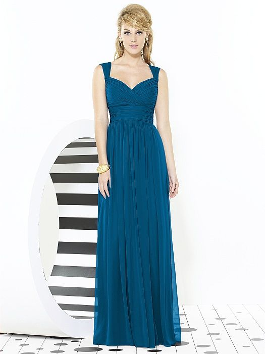 After Six Bridesmaids Style 6712 http://www.dessy.com/dresses/bridesmaid/6712/?color=midnight&colorid=47#.VS752_mjOm4