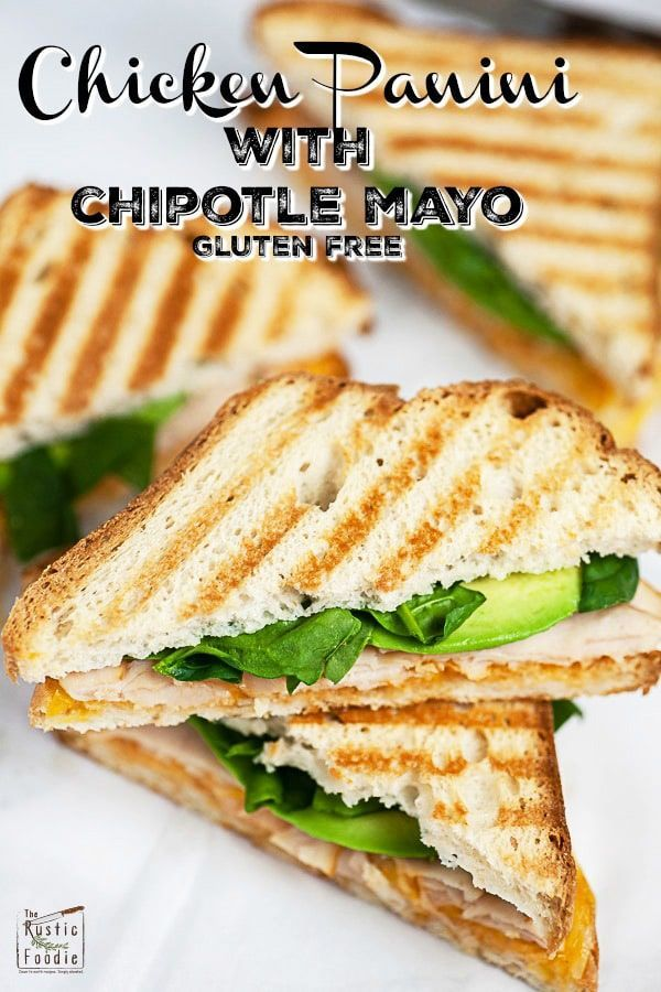 This Chicken Panini With Chipotle Mayo Makes The Easy And