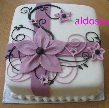 DORTY A SLADKOSTI aneb PEČEME S LÁSKOU - Fotoalbum - -MOJE PEČENÍ- - Moje dorty - My cakes - Minidortík pro kamarádku Pavlu