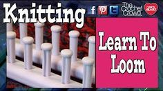 How to Eight Wrap the Knifty Knitter Long Looms - YouTube
