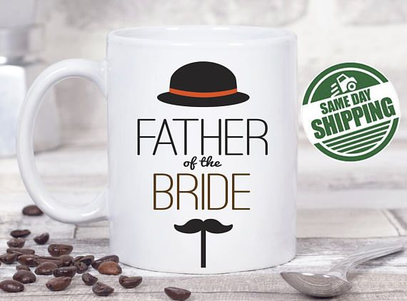 father of the groom gift, father of the groom, father of the groom mug, wedding gifts for parents, wedding gift parents,parents of the groom  This cute design will be printed on best quality Grade A fully white Mugs or Mugs with black handle. If you prefer, we can print design on one side and special message on the other side. Kindly specify in order notes. We use dye sublimation and heat transfer technique to print the design on the mugs. This ensures that the design and the words will look…