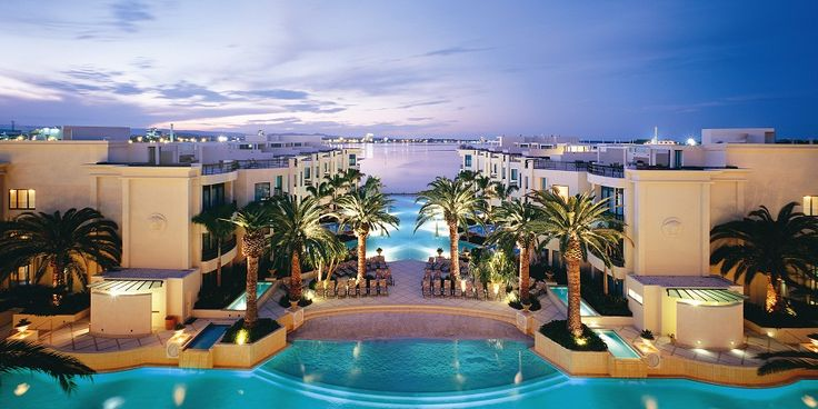 Palazzo Versace - Gold Coast, Australia. This is where I will stay when I win the lottery and visit my family... A girl can dream!
