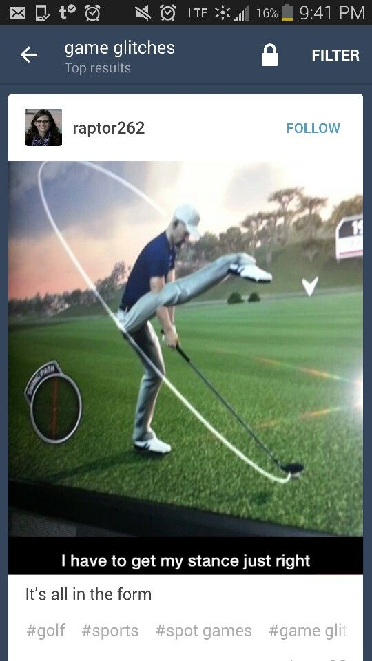 OMG that must be from the Sims! <<<<< ur kidding me right<<<how do you mistake a golfing game from the sims wtf