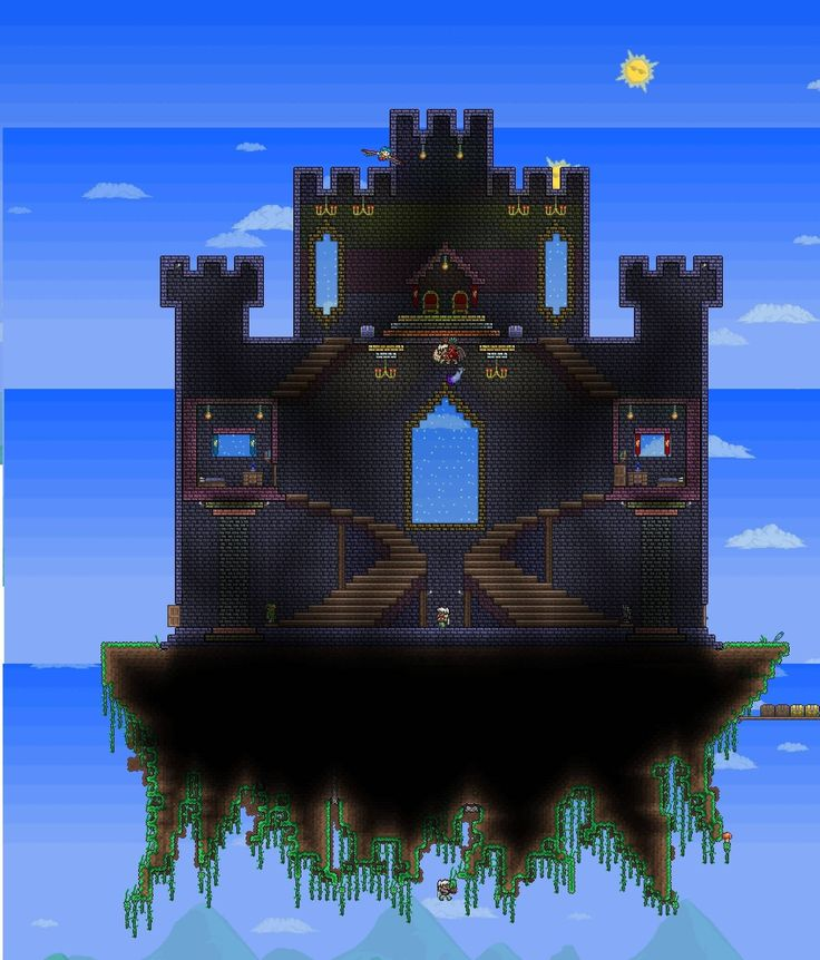Minecraft Castle Staircase : Best images about terraria on pinterest