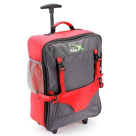 Cabin Max – Sac à roulettes pour enfant et pour son ours en peluche…: Sac à roulettes pratique pour enfant lors des départs en vacances.…