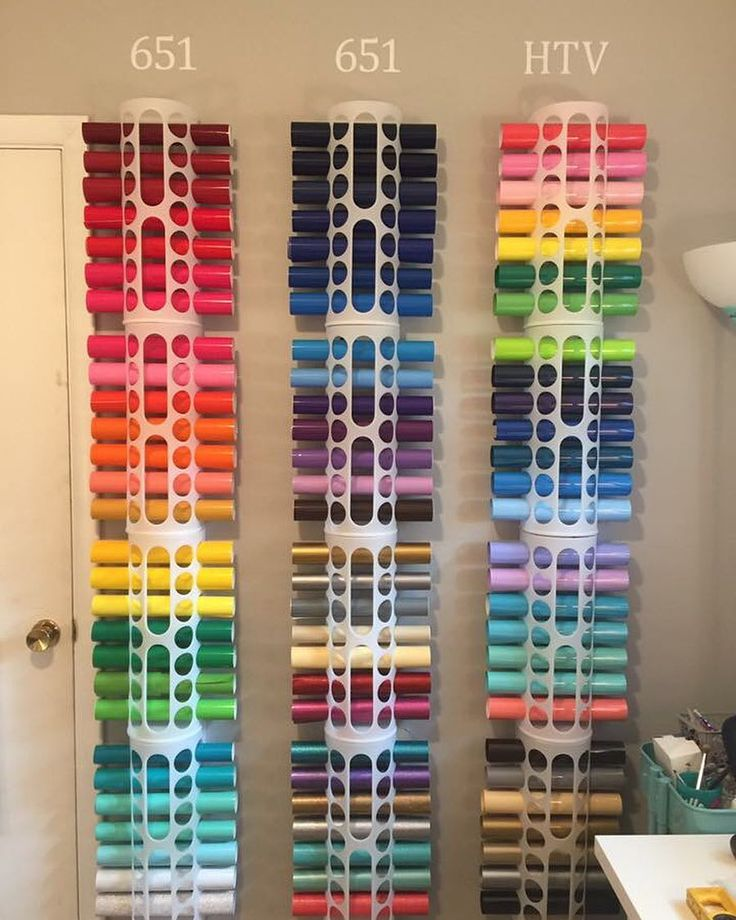 How is this for vinyl organization perfection? Thanks to Holly for sharing!