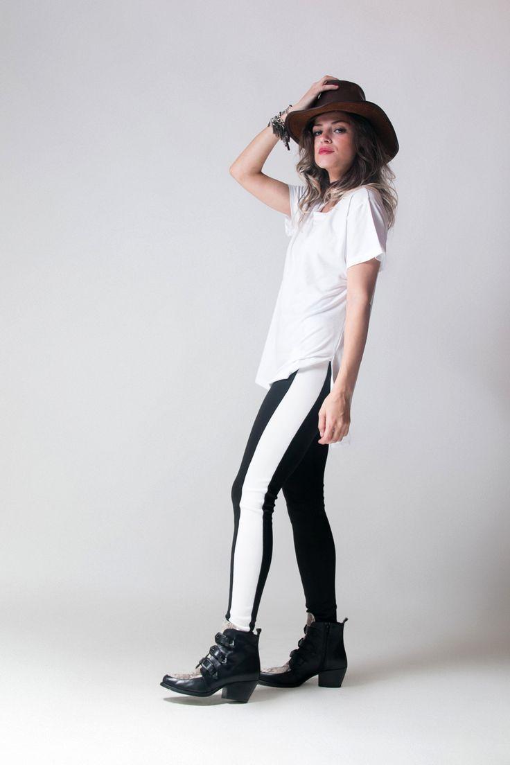 +Remera XL WHITE +Pant CEBRA