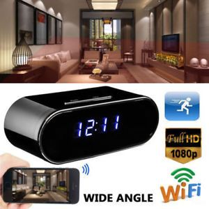 Wireless HD 1080P Hidden Spy Camera Alarm Clock IR Security Cam DVR Night Vision  (Disclaimer: This is an affiliate link) :D