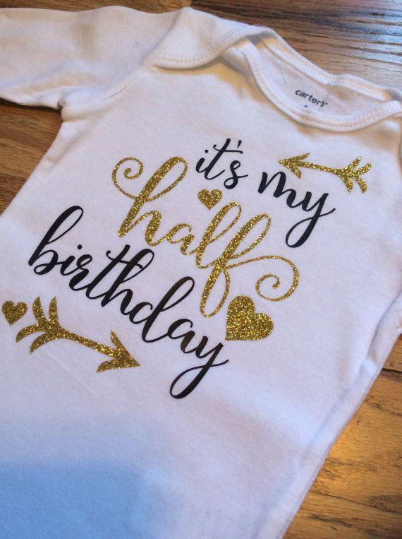 1000 Ideas About Half Birthday On Pinterest Half