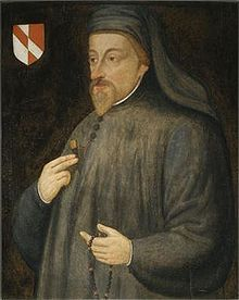 Geoffrey Chaucer - known as the Father of English literature, is widely considered the greatest English poet of the Middle Ages and was the first poet to have been buried in Poet's Corner of Westminster Abbey. While he achieved fame during his lifetime as an author, philosopher, alchemist and astronomer, composing a scientific treatise on the astrolabe for his ten year-old son Lewis, Chaucer also maintained an active career in the civil service as a bureaucrat, courtier and diplomat