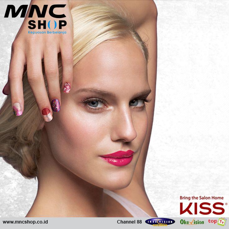 Kuku cantik, bersih, tidak perlu ribet! KISS Nail Art ini bahkan tahan lama, lho!* #mncshop