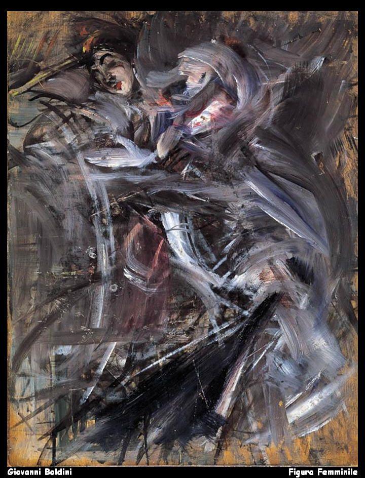 Giovanni Boldini  Figura Femminile   by jpbrewer1963