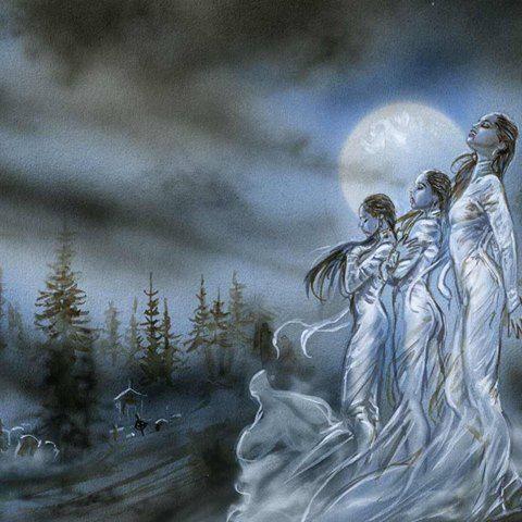 Vampire Sextete - sketch Luis Royo