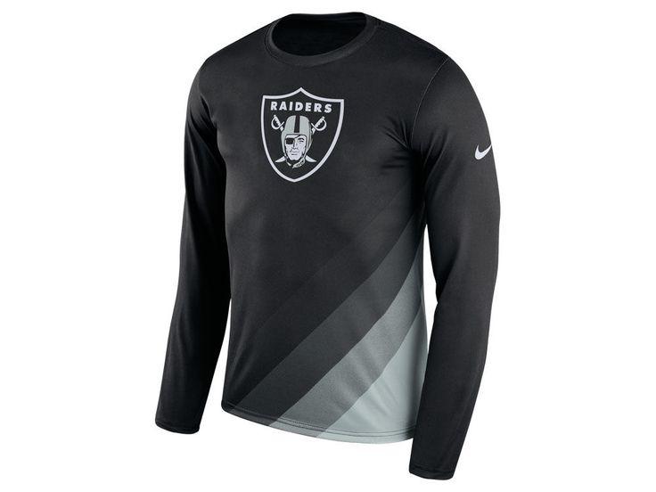 Oakland Raiders Nike NFL Men's Legend Prism Long Sleeve T-Shirt