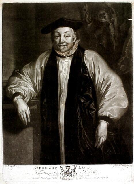 William Laud, Archbishop of Canterbury (1633-1645).