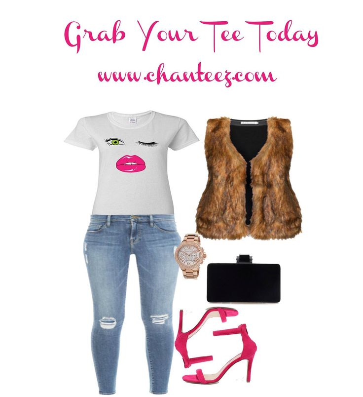 @ChanTeezPlus Flirty Women's Tee Paired w/Polyvore Finds