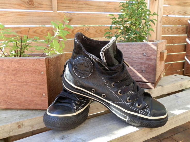 converse cuir taille 26