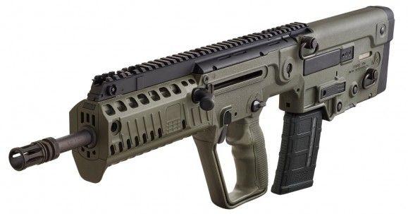 IWI Tavor X95 SAR Flattop Carbine, 5.56 Caliber Bullpup Style Semi-Auto Rifle W /30 Round Mag - O.D. Green -  Model XG16- X95