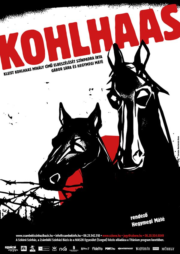 Kohlhaas theater poster