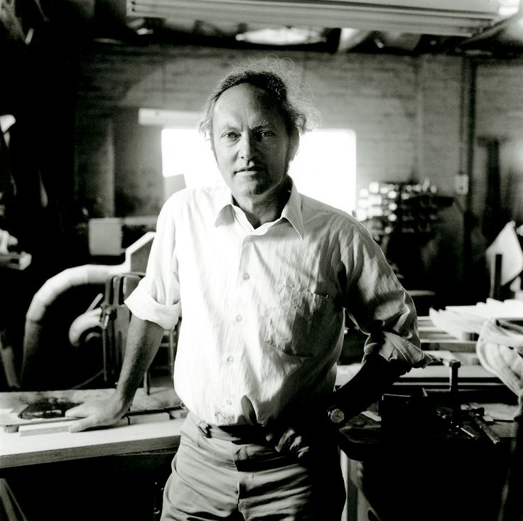 Bill May. Founder of Maton Guitars in 1946